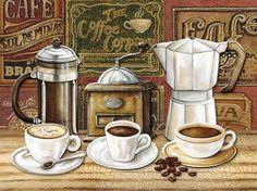 Pin by (♥) maria ßlue ßlessed (♥) on ✿ coffee love ✿ кофе, любители кофе, к Coffee Art, Coffee Poster, I Love Coffee, Coffee Shop, Coffee Cups, Coffee Crafts, Coffee Break, Vintage Labels, Vintage Posters