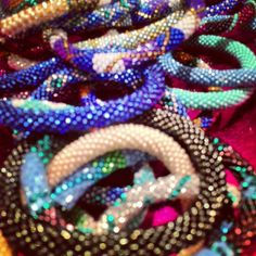 Nepal Mission bracelets from Bella Boutique in Springfield, IL