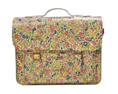 LARGE LEATHER SATCHEL  £195.00    The Liberty London for Dr. Martens collection launches exclusively here at Liberty on 1st May.