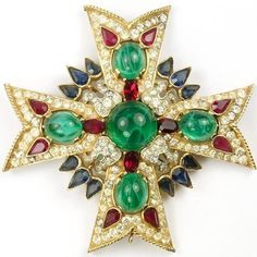 Since the 1920s, Trifari has been one of the most respected and admired producers of costume jewelry in the United States. Founded in the 1910s by Gustavo Trifari, the Italian-immigrant son of a Napoli...