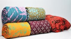 Printed Quilt. Best collections.