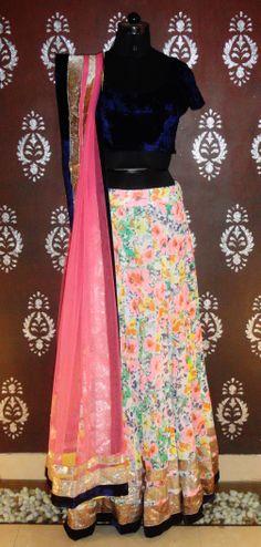 Indian#Bollywood Fashion# ghagra Choli # Vitamin by Sonalika # Sonalika Pradhan