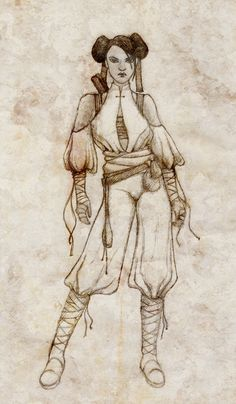 Monk outfit design by wonderlandart.deviantart.com on @DeviantArt
