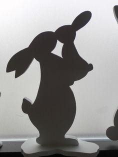Ostern Holz Hase Osterhase Figur Deko Häschen Kaninchen langohr hasenmama M4 | Möbel & Wohnen, Feste & Besondere Anlässe, Jahreszeitliche Dekoration | eBay!