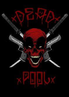 #Deadpool #Fan #Art. (DEAD SKULL) By:Paulo-Man. (THE * 5 * STÅR * ÅWARD * OF: * AW YEAH, IT'S MAJOR ÅWESOMENESS!!!™)[THANK U 4 PINNING!!!<·><]<©>ÅÅÅ+(OB4E)