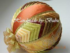 Patchwork ornament Dekoračná guľka, Falošný patchwork | Artmama.sk