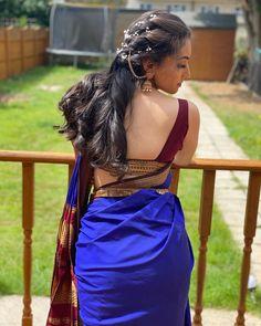 Beautiful Girl Indian, Most Beautiful Indian Actress, Beautiful Saree, Beautiful Women, Indian Photoshoot, Saree Photoshoot, Saree Backless, Saree Models, Blouse Models