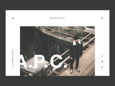 A.P.C. Header Design