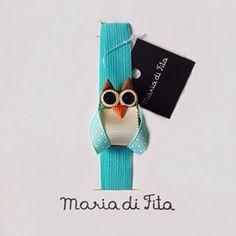 Faz tempo que não posto os famosos laços divertidos né? Olha essa faixa baby Corujinha no tom da moda! Sucesso!!! Disponível também em prendedor!!!