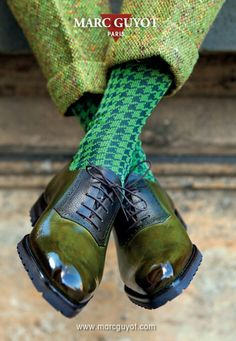 The Preppy Fox — marcguyot: New advertisement! Sharp Dressed Man, Well Dressed Men, Sock Shoes, Shoe Boots, Men Dress, Dress Shoes, Mode Man, Dandy Style, Men's Style