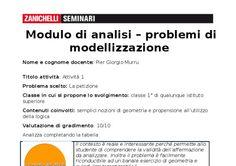 SELEZIONE E COMMENTO- PROBLEMI DI MODELLIZZAZIONE MATEMATICA