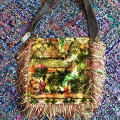 [GyPsY JaNe] purse Handmade by my mom. Made from a vintage Italian bedspread. No trades. Gypsy Jane Bags