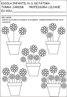 Atividades primavera e plantas