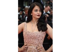 Aishwarya Rai Bachchan dazzles in gold at Cannes 2016 Deep Red Lips, Aishwarya Rai Bachchan, Steven Spielberg, Elie Saab, Cannes, Red Carpet, Gowns, Formal Dresses, Fashion
