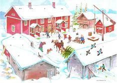 Tältä sivulta löydät kaikki Suomen Partiolaisten adventtikalenterin kuvat.