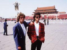Wham in the 80s in china