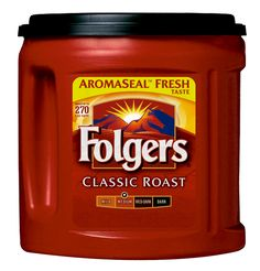 """Says @Megan Maslonka:  """"Folgers is the devil of all coffees"""".  I agree! Sorry if there are folgers lovers out there, but I HATE this stuff.  And Meg makes me laugh.  """"No amount of creamer or sugar can make this good.  Thank you for sheltering me from bad coffee mom.""""  Your welcome daughter.  Love you."""