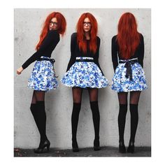 Hot chicks with red heads ❤ liked on Polyvore featuring lookbook and photos