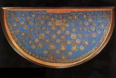 """The so-called """"Star Mantle"""" of the Holy Roman Emperor Henry II embroidered ca. Culture Songs, Textile Tapestry, Tapestries, Zhou Dynasty, History Images, Museum, Ceramic Jars, Roman Emperor, 1st Century"""