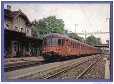 SBB-CFF RABDe 12/12 - Train - S-Bahn In Zürich Letten - Betrieb Zürich - Rapperswil - Stations With Trains