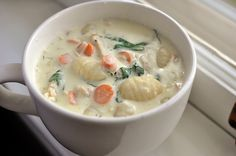 Hearty Chicken Gnocchi Soup Recipe on Yummly. @yummly #recipe