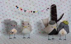 Patrones y tutoriales de pájaros de tela – Comando Craft