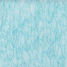 Valori Wells - In the Bloom Knit - Leafy Knit in Turquoise