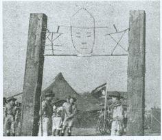 民國19年(1930年)中國童子軍第一團武昌文華書院參加中國童子軍第一次全國大露營(南京)