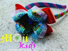 diademas exclusivas hechas a mano para niñas