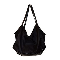 BLACK HUGE DUFFEL BAG