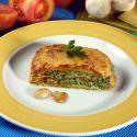 Receta de Lasaña de champiñones y espinacas - Karlos Arguiñano