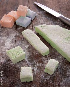 Marshmallow ou Guimauve maison http://www.jujube-en-cuisine.fr/?p=8462