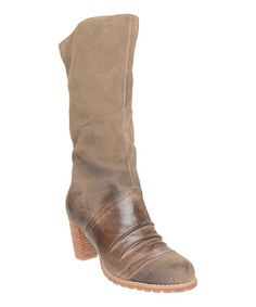 Look what I found on #zulily! Grey Suede 759 Boot by Antelope #zulilyfinds