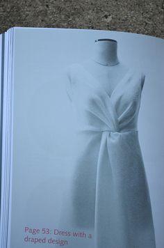 draped design dress from Pattern Magic by  Tomoko Nakamichi