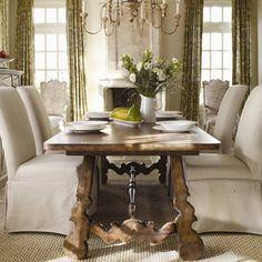 Hooker Furniture Sorella Rectangular Dining Table With Leaves In Brown | Hooker  Furniture, Leaves And Rectangle Dining Table