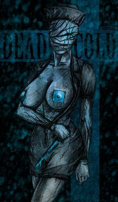 ArtStation - bloody nurse, Michael Smirnov