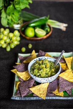 Chilean Green Grape Salsa