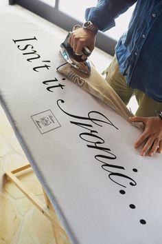 """""Ironic"""" Ironboard Cover 140x50cm Riviera Maison"