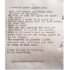 """The Universe and Her, and I #322 written by Christopher Poindexter"""