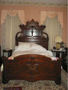 Price : $18500.00 1850u0027s Original Victorian Cutter U0026 Sons Massive Bedroom  Suite. Cutter And Sons Was A Fine Quality Furniture Attributing Their  Talent To ...