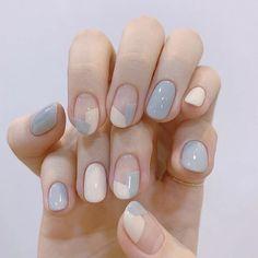 Cute Simple Nails, Cute Gel Nails, Short Gel Nails, Cute Acrylic Nails, Cute Simple Nail Designs, Shellac Nail Art, Cute Short Nails, Long Nails, Classy Gel Nails