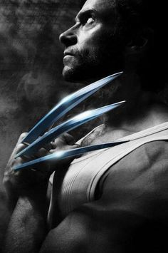 """Nine out of 10 characteristics of Wolverine I don't share, but aggression is a primal thing and needs to be exercised in some way."" - Hugh Jackman"