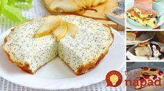 6 najjednoduchších fit receptov z tvarohu Healthy Cookies, Healthy Baking, Healthy Desserts, Healthy Recipes, Good Food, Yummy Food, Food Presentation, Street Food, I Foods