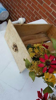 Antique Wooden Cabinet Drawer ~ Old Vintage Industrial Primitive Wood Box Shelf Outdoor Decor Primitive Wood Box Planter by ANTFOUNDANTIQUES on Etsy