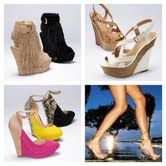 wedges, wedges, wedges, and ooh those are cute!