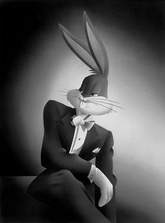What's up, doc? Bugs Bunny, lord of the Looney Toons, wasn't finished in Space Jam, and he's coming Bugs Bunny Pictures, Bunny Images, Bos Bony, History Of Animation, Photo Humour, Pepe Le Pew, Looney Tunes Cartoons, Looney Toons, Funny Cartoons