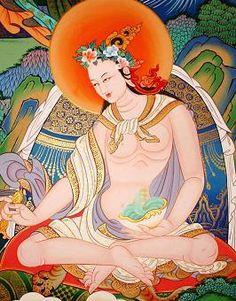 Yeshe Tsogyal - Tibet's great yogini and rogue; princess of the Wisdom Lake and consort to Padmasambhava.