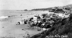 Aliso Auto Camp, Laguna Beach, CA in the 1930's. www.jeffreymarkell.com #orangecountyrealtor #jeffforhomes #luxury