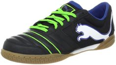 PUMA Powercat 412 Sala Soccer CleatBlackJasmine GreenMonaco Blue12 D US Mens135 B US Womens * Continue to the product at the image link.