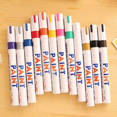 1pc 8 Colors Tyre Permanent Paint Pen Tire Metal Outdoor Marking Ink Marker Waterproof Oil Pen-in Art Markers from Office & School Supplies on Aliexpress.com | Alibaba Group